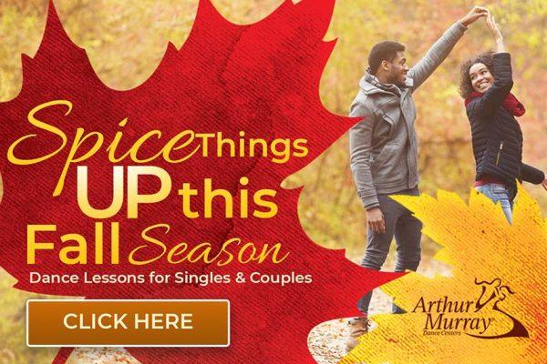 Arthur Murray Fall Season Dance Lessons