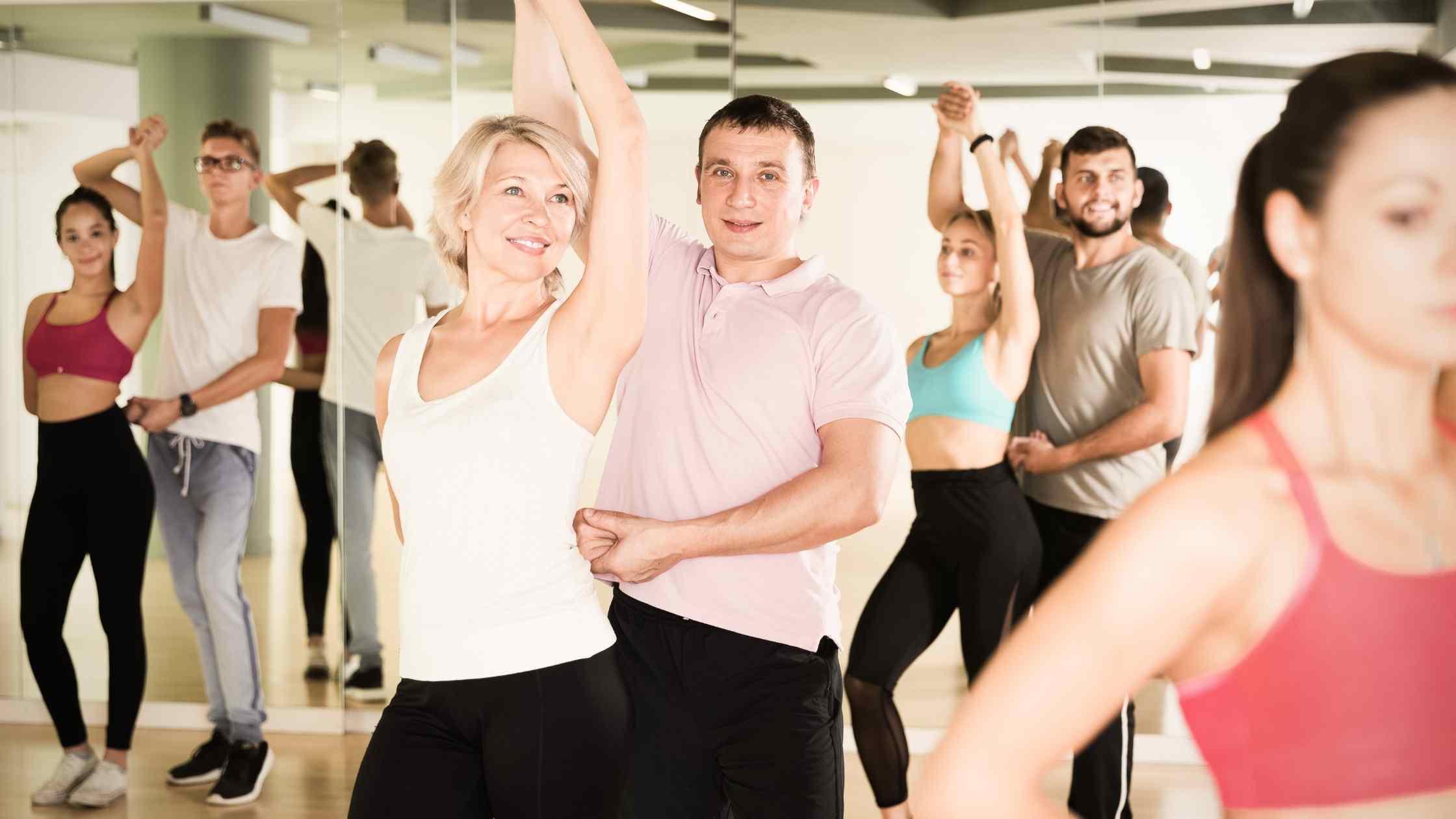 Health benefits of ballroom dance